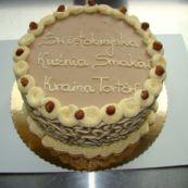 tort czekoladowo-orzechowy z Rżuchowa