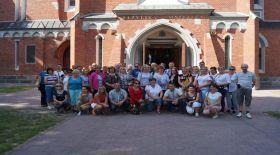 Uczestnicy seminarium - dziedzictwo kulturowe w Wąwolnicy